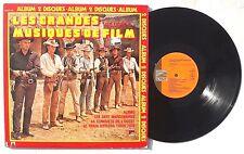 LES GRANDES MUSIQUES DE FILM Volume 6 2XLP Gatefold UNITED ARTISTS RECORDS NM