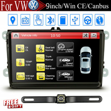 "9"" Car Stereo for VW Tiguan Auto Radio GPS Navigation Head Unit Dash+Backup CAM"