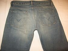 Diesel Jeans Mens Rabox Relaxed Straight Distressed Art 80M Sz 32 X 33