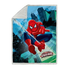 Spider-man plaid coperta 130x160 SPIDER-MAN GRAPHIC