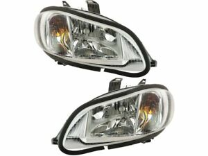 Headlight Assembly Set For 2004-2012 Freightliner Business Class M2 2005 Q815RT