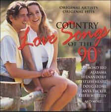 Various Artists : Country Love Songs of the 90s CD