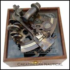 NEW Patters Sextant Kelvin n Hughes Sextant Antique German Nautical CASE Box