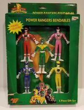 Mighty Morphin Power Rangers Bendables 5 Piece Gift Set B by Gordy Toy NEW