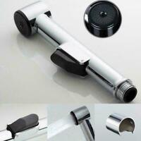 Stainless Steel Bathroom Shower Head Hand Held Toilet Bidet Spray Head Wate Q8S1