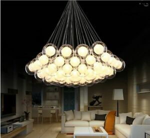 Nordic Led Chandelier Lighting Modern Living Room Chandelier Simple Glass Home