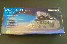 UNIDEN PRO-510XL 40 CHANNEL COMPACT CB RADIO