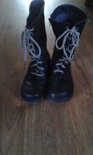Black Oxygen Tamar Boots. Size 6