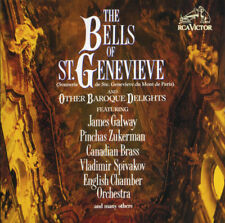 New ListingThe Bells Of St. Genevieve And Other Baroque Delights - Galway / Zukerman Rca