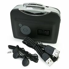 Cassette to MP3 CD Converter Portable 28Kbps Tape to USB Flash Disk Ezcap230 US