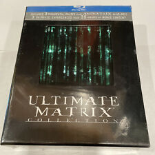The Ultimate Matrix Collection [Blu-ray] - New - Factory Sealed