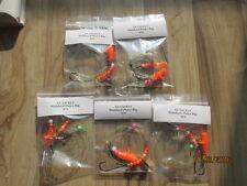 5 X Standard Plaice / Flattie /Flounder RIGS 2/0
