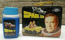 Vintage 1975 SPACE 1999 Metal Lunchbox w/ Thermos Rare Landau Bain