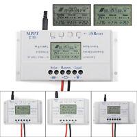 Solar Panel Regulator LCD 10/20/30/40A 12V/24V MPPT Charge Controller 3 Timer LK