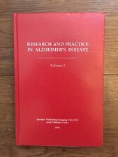 Research and Practice in Alzheimer's Disease. Volume 3. Hardcover – 2000