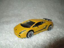 Lamborghini Gallardo Superleggera Motormax #6157 1/64 Met Amarillo