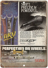 "Ukai, Suzue, Peregrine BMX Ad - 10"" x 7"" Metal Sign - Vintage Look Reproduction"
