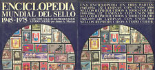 ENCICLOPEDIA MUNDIAL DEL SELLO 1945 - 1975 ED. NOGUER RIZZOLI LAROUSSE 1976