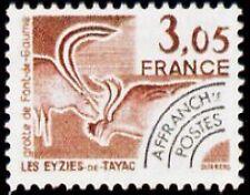 "FRANCE PREOBLITERE TIMBRE STAMP N°173 ""MONUMENTS, EYZIES-DE-TAYAC"" NEUF xx TTB"