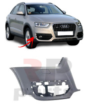 FOR AUDI Q3 11-15 FRONT BUMPER SIDE MOLDING TRIM WITH PDC HOLE PAINTING RIGHT