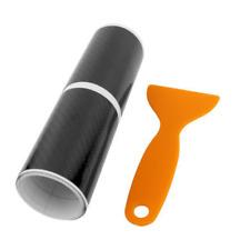 4PCS Accessory 5D Carbon Fiber Car Plate Door Sill Scuff Plate Cars Sticker