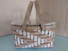 Longaberger Collector's Club Southwest Basket with lid, protector & box New