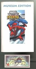 ULTIMATE SPIDER-MAN 1 Museum Edition + certificat de tirage à 555ex. 2001
