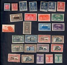 eritrea 28v. con serie complete linguellati o gomma bruniita fra.993