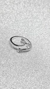 💘⚘Draginfly Cubic Zirconia Ring 925 Sterling Silver for Women