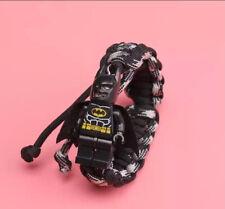 Kids Boy Bracelet 25cm Stretch Adjustable Child Children Kid Gift Bat-Man.