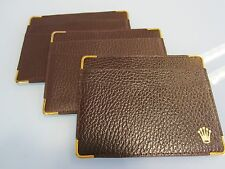 card holder 101.70.55 Rolex Burgundy Leather