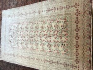 Antique PersianKerman Hand made rug  194x124cm / 6.5x4.1