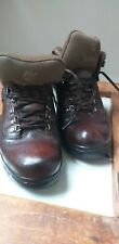 Timberland Brown Leather Walking Boots Ladies Size 5