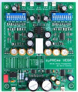 Phono-Vorverstärker sµPREme VEGA, High End MM+MC Preamplifier der Spitzenklasse