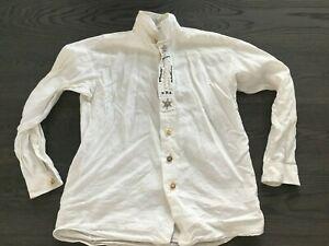 AMANN, Trachtenhemd Made in Austria, langarm Hemd, Grösse: 40, gebraucht