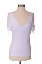 Vintage Roberto Cavalli White Short Sleeve Top Size Extra large