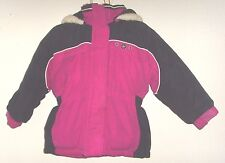 Girl's size 2T pink hooded full zip winter jacket (Big Chill)