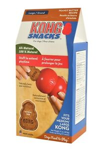 KONG Snacks For Dogs Peanut Butter 11oz