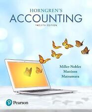 Horngren's Accounting (12th Edition)
