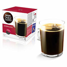 Dolce Gusto Americano Coffee (6 Boxes,Total 96 Capsules ) 96 Servings