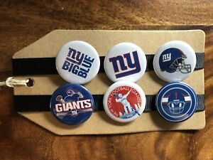 New York Giants NFL American Football - Pin Badge Set