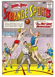 BRAVE AND THE BOLD #46  in FN condition a 1959 DC comic - STRANGE SPORTS