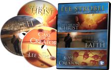 The Lee Strobel Collection (DVD, 2009, 3-Disc Set) Case for Christ
