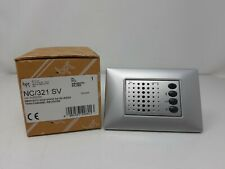 BPT NC/321 SV 60532300 modulo viva-voce NOVA incasso 2 fili colore argento