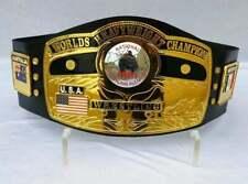 NWA Doomed Globe World Heavyweight Championship Wrestling Belt Adult Size