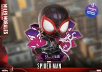 Hottoys Cosb852 The Spider Man MILES MORALES Cosbaby Bobble-Head Series Doll