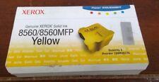 GENUINE NEW XEROX 8560 / 8560MFP 108R00725 YELLOW INK 3 STICKS