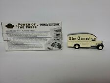 Matchbox Collectibles Power Of The Press 1931 Morris Van London Times Diecast