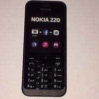 Nokia 220 Black Dummy/ Toy Mobile Phone (ex Display)