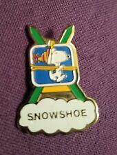 New listing Snoopy & Woodstock At Snowshoe Ski Resort Enamel Pin